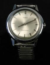 Silver Timex Electronic Men's Watch