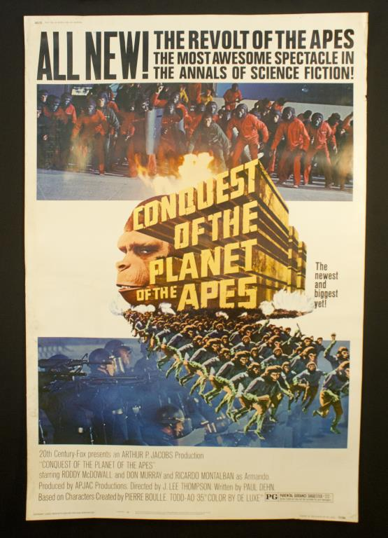 conquest for the planet of the apes