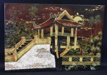 Asian - Eastern Style Scene Painting Artwork