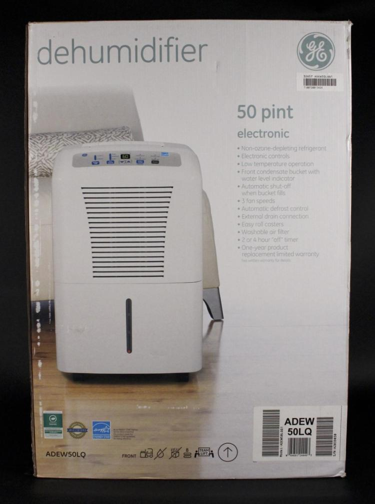 Ge Dehumidifier 30 pint Owners manual on