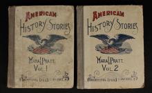 1888 -1889 American History Stories Vol, 1 & 2