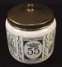 Vintage Royal Goedewaagen Tobacco Jar