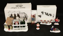 Department 56 Handpainted Ceramic Snow Village