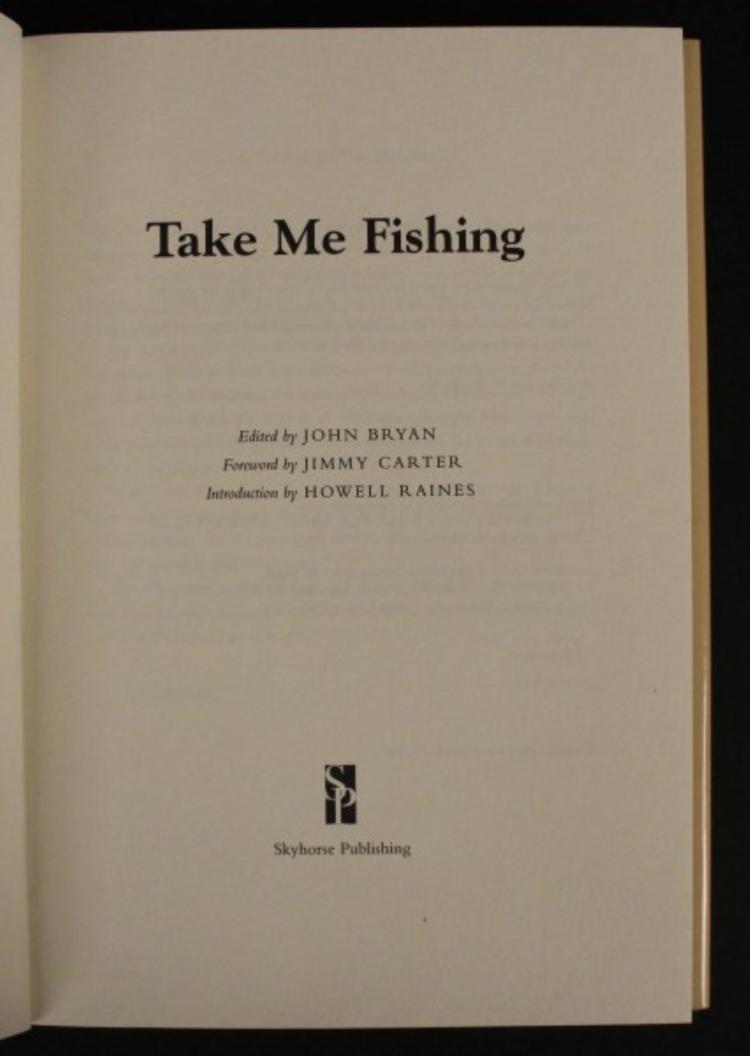2007 take me fishing book by john heidtke for Take me fishing