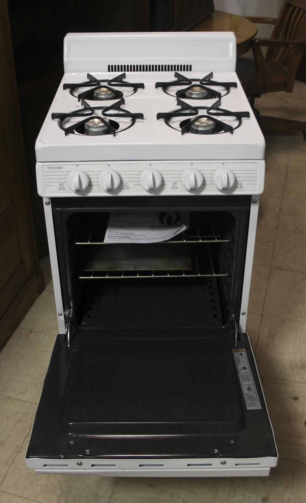 Small Apartment - Trailer Premier Propane Stove