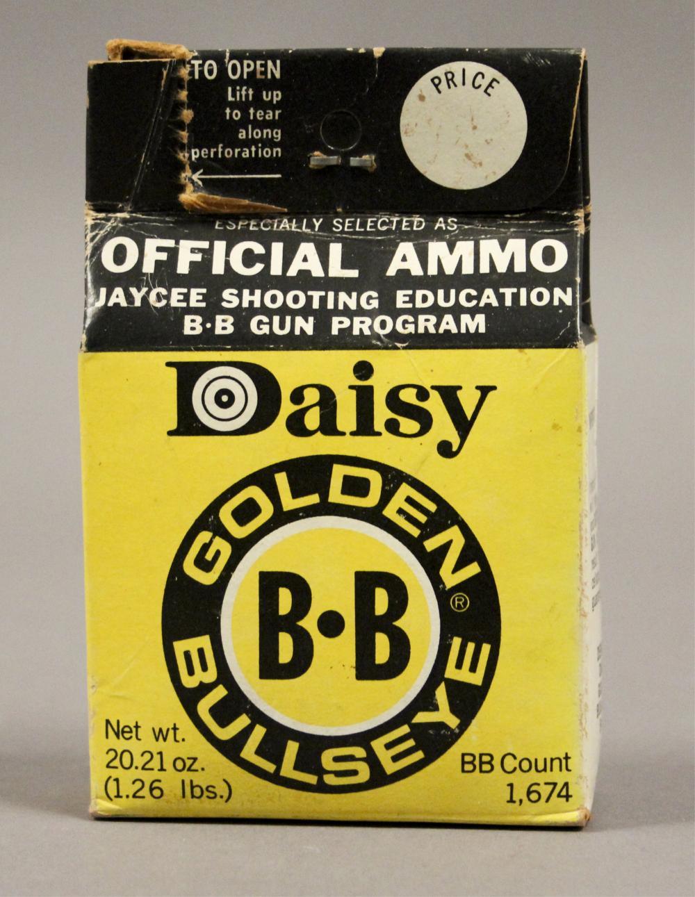 Daisy Heddon Model #102 BB Gun with BB Pellets