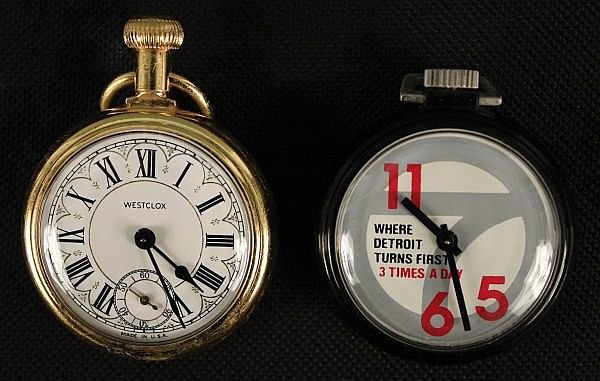 collection of 40 vintage pocket watches with