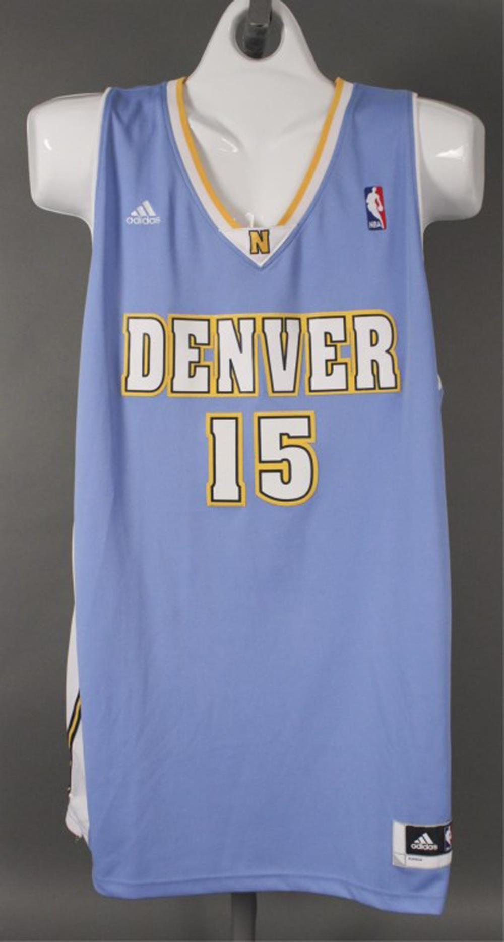 new style eeb77 22d1d Carmelo Anthony #15 Denver Nuggets NBA Jersey
