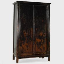 18th Century Chinese Ming Tapered Cabinet