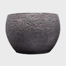 Monumental Incised Stone Jar