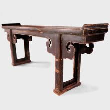 19th Century Chinese Altar Table with Cloud Spandrels