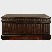 Chinese Woven Reed Trunk