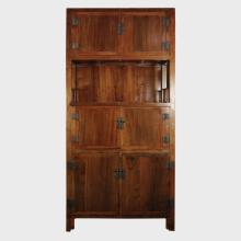 Chinese Convertible Book Cabinet