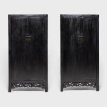 Pair of Chinese Prosperity Cabinets
