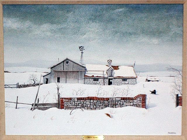DAVID BRYAN HOLMES (Canadian. Born 1936)