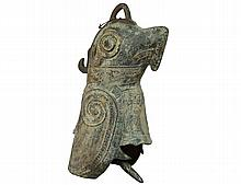 ARCHAISTIC STYLE BRONZE BELL