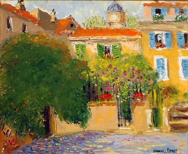 GEORGES FLANET (French. Born 1937)