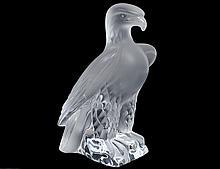 LALIQUE CRYSTAL EAGLE