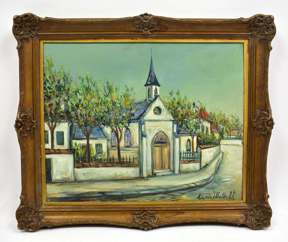 AFTER MAURICE UTRILLO (20th Century)