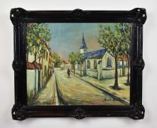 Lot 39: AFTER MAURICE UTRILLO (20th Century)