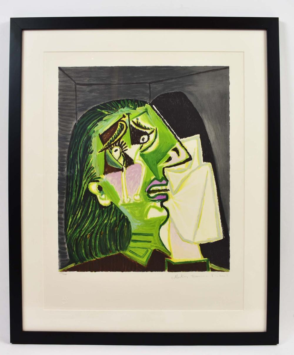 AFTER PABLO PICASSO LITHOGRAPH MARINA PICASSO