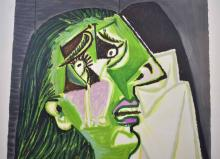 Lot 62: AFTER PABLO PICASSO LITHOGRAPH MARINA PICASSO