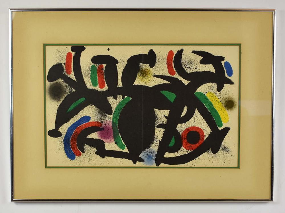 Lot 63: JOAN MIRO (Spanish. 1893-1983)
