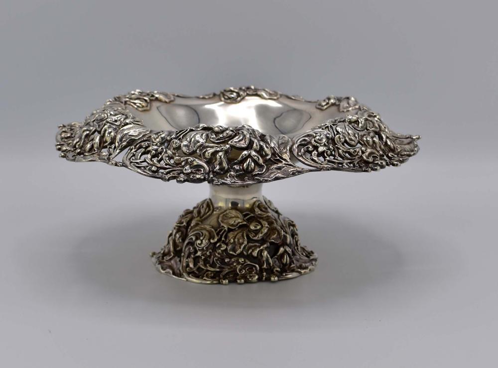 AMERICAN STERLING SILVER FOOTED BOWL