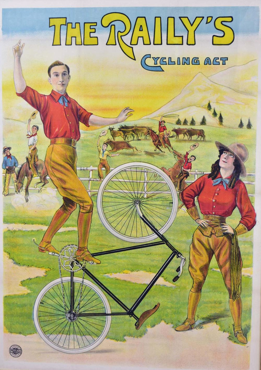 Lot 91: THE RAILYS CYCLING ACT