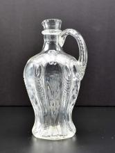 Lot 144: ENGLISH ENGRAVED ROCK CRYSTAL GLASS DECANTER