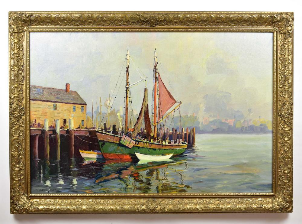 J. J. ENWRIGHT (Casper Hjalmar Amundsen) (American. 1911-2001)
