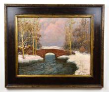 Lot 127: WILLIAM LA VALLEY (American. 1862-1942)