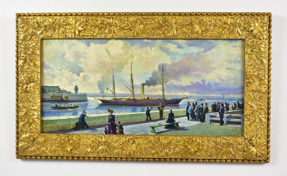 ALEKSEI PETROVICH BOGOLYUBOV (Russian. 1824–1896)
