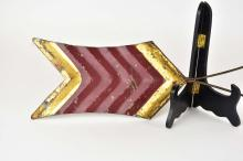 Lot 193: PAINTED TOLE WEATHERVANE ARROW DIRECTIONAL