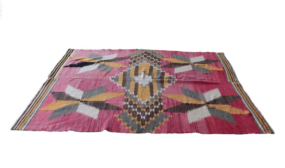 NATIVE AMERICAN RIO GRAND WOOL BLANKET