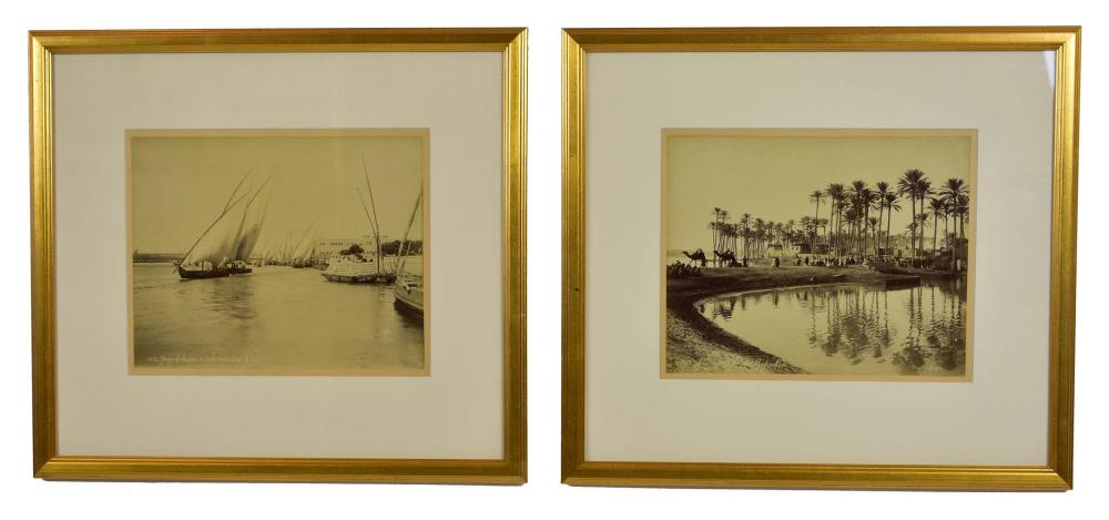 Lot 269: FELIX BONFILS (French. 1831-1885) and MARIE LYDIE BONFILS (French. 1837-1918)