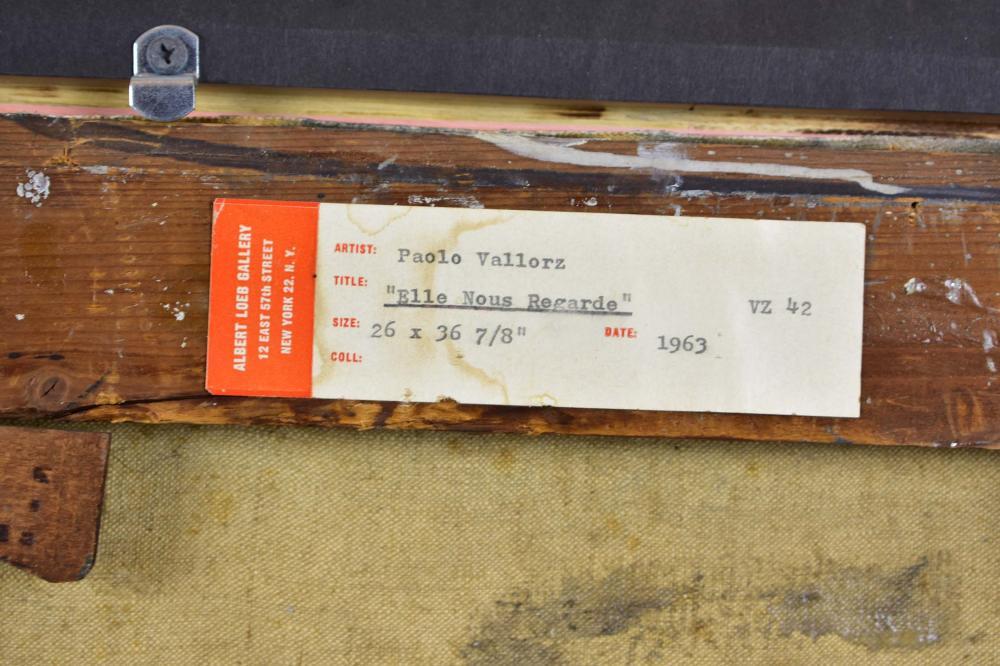 Lot 217: PAOLO VALLORZ (Italian. b. 1931)