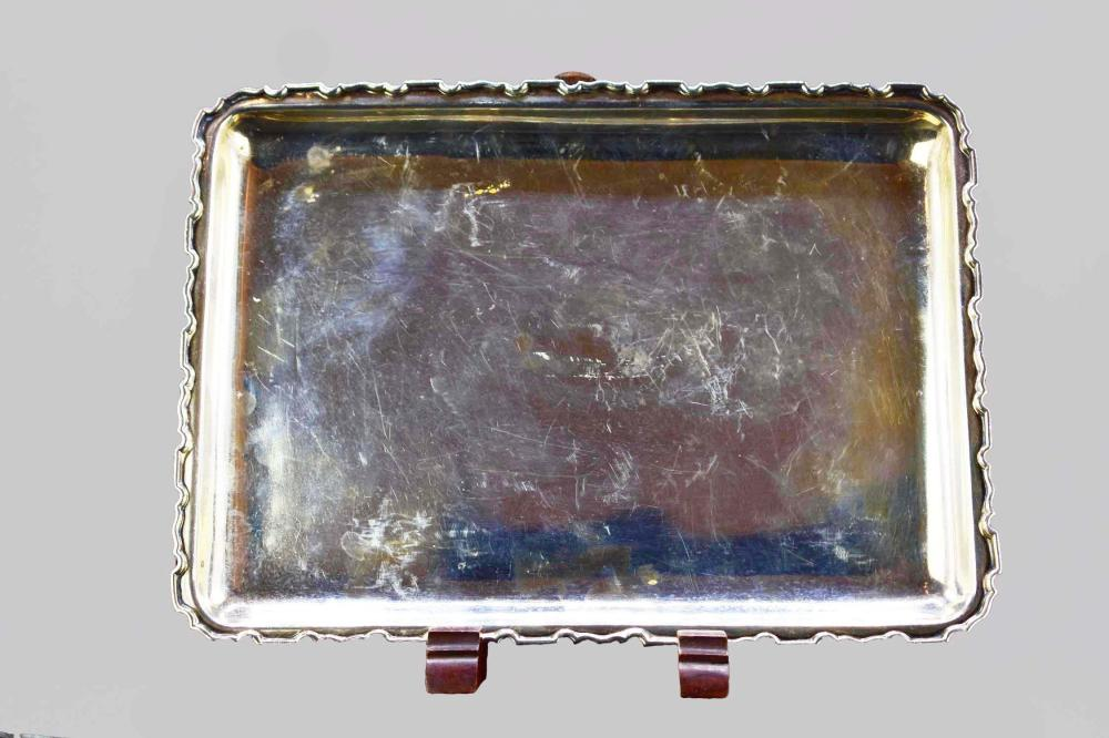STERLING SILVER RECTANGULAR TRAY