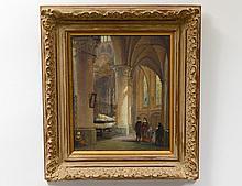 LOUIS HAGHE (Belgian. 1806-1885)