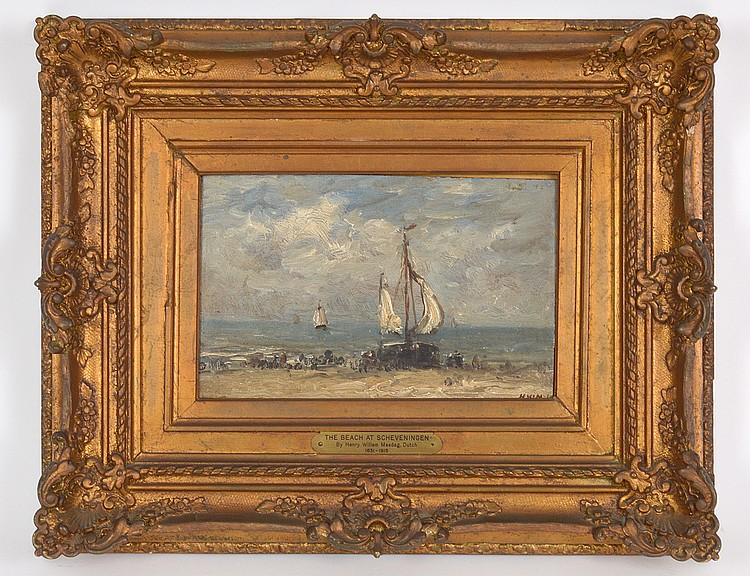 ATTRIB. TO HENDRIK WILLEM MESDAG (Dutch. 1831-1915)