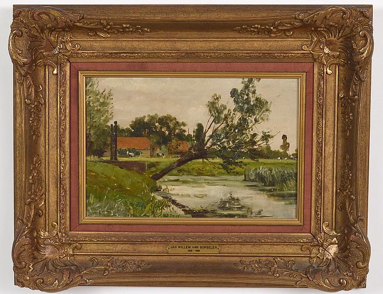 JAN WILLEM VAN BORSELEN (Dutch. 1825-1892)