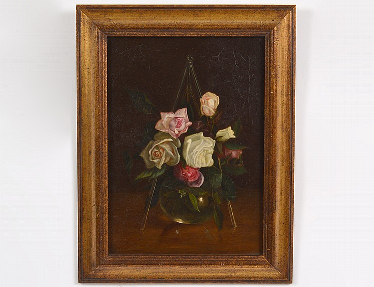 LATE 19th CENTURY OIL ON CANVAS PAINTING