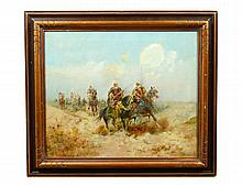 MANNER OF ADOLF SCHREYER (French/German. 1828-1899)