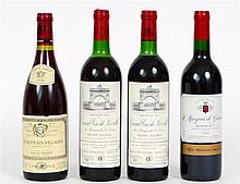 FOUR BOTTLES OF FRENCH RED WINE