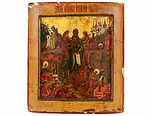 RUSSIAN ICON OF THE ANGEL MICHAEL