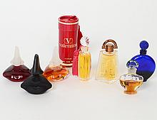 TWENTY-FIVE MINIATURE BOTTLLES OF FRENCH PERFUME