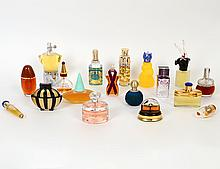 EIGHTEEN BOTTLES OF EUROPEAN PERFUME