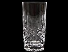 SET OF TWENTY-FOUR WATERFORD CRYSTAL HIGHBALLS