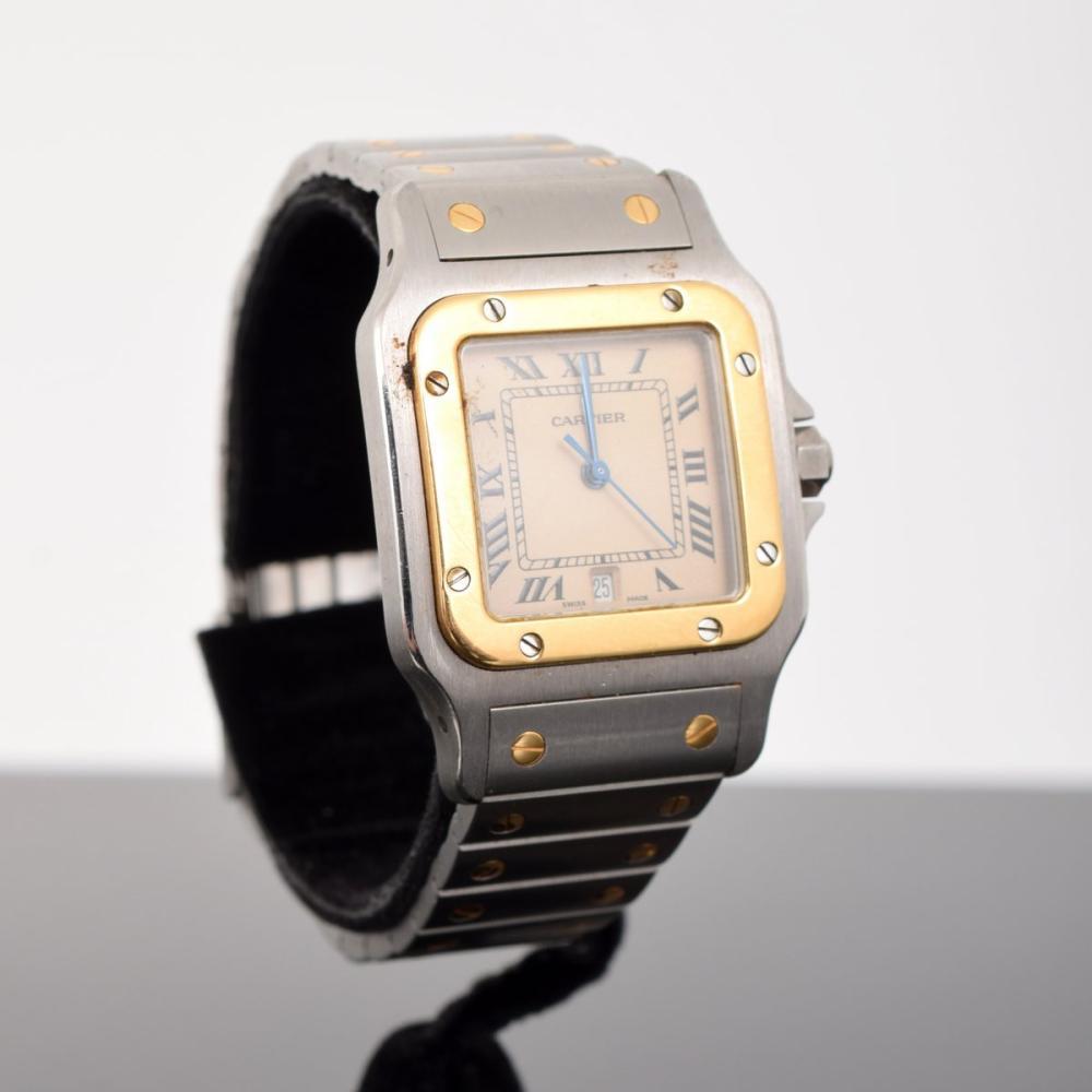 Santos de Cartier GALBEE Two-Tone Watch