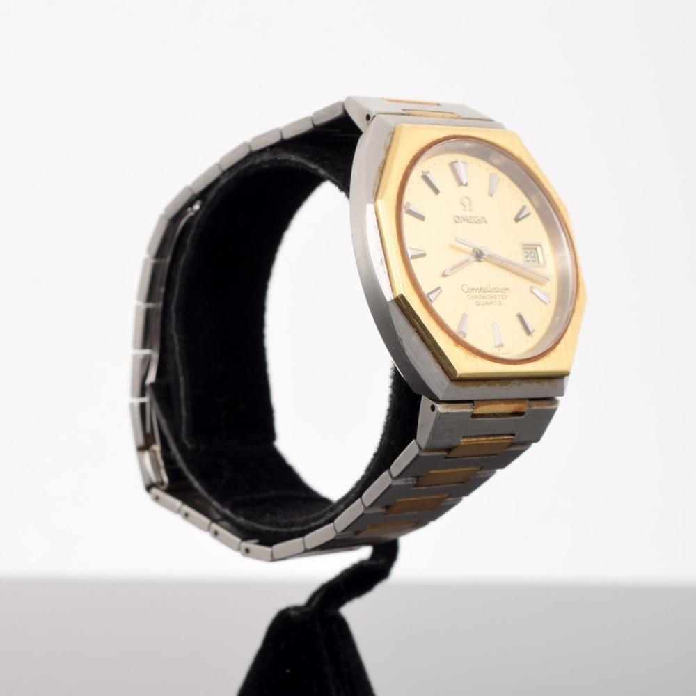 Omega Constellation Chronometer Two-Tone Watch